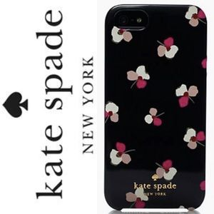 Kate Spade Lucky Pansies iPhone Case 6s 6 7 8 Plus